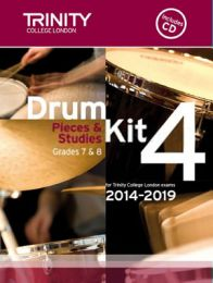 Drum Kit Book 4 - Grades 7 & 8 (with CD)