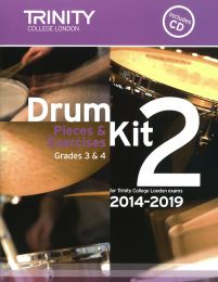 Drum Kit Book 2 - Grades 3 & 4 (with CD)