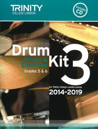 Drum Kit Book 3 - Grades 5 & 6 (with CD)