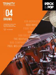 Rock & Pop Drums (from 2018) - Grade 4