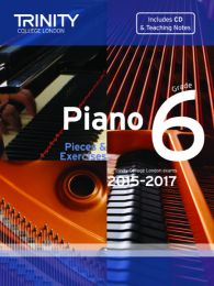 Piano Grade 6 (Book & CD) (2015-2017)