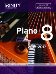 Piano Grade 8 (Book & CD) (2015-2017)