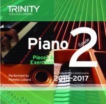 Piano Examination Pieces CD Grade 2 (2015-2017)