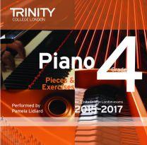 Piano Examination Pieces CD Grade 4 (2015-2017)