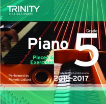 Piano Examination Pieces CD Grade 5 (2015-2017)