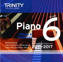 Piano Examination Pieces CD Grade 6 (2015-2017)