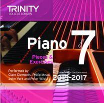 Piano Examination Pieces CD Grade 7 (2015-2017)