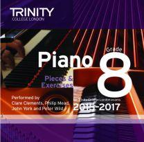 Piano Examination Pieces CD Grade 8 (2015-2017)