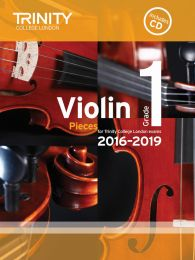 Violin Exam Pieces Grade 1 (2016-2019) (Book & CD)