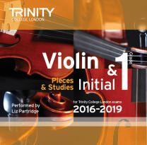 Violin CD Initial & Grade 1 (2016-2019)