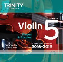 Violin CD Grade 5 (2016-2019)