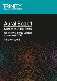 Aural Book 1: Initial -Grade 5 (from 2017)