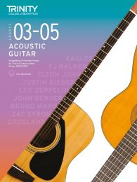 Acoustic Guitar Exam Pieces 2020-2023: Grades 3-5