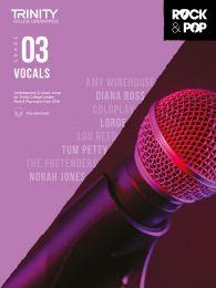 Rock & Pop Vocals (from 2018) - Grade 3