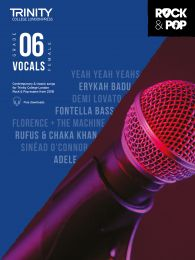 Rock & Pop Vocals (from 2018) - Grade 6 (Female Voice)