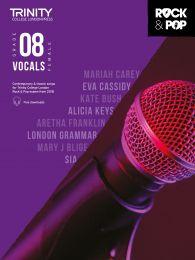 Rock & Pop Vocals (from 2018) - Grade 8 (Female Voice)